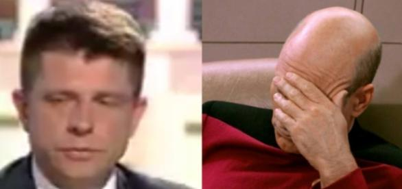 Ryszard Petru w Faktach po Faktach TVN (źródło: twitter.com)