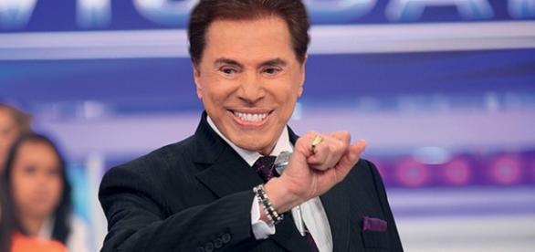 Durante programa, Silvio Santos cogita ser candidato a presidente.