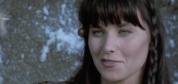 Lucy Lawless as 'Xena: Warrior Princess'/Photo via YouTube