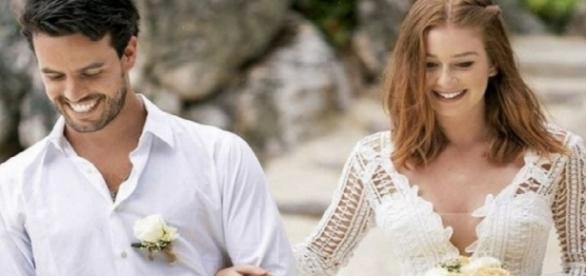 Marina Ruy Barbosa se casa em segredo com Xande Negrão, veja os detalhes.