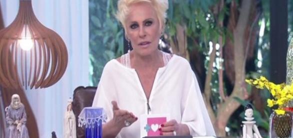 Ana Maria no programa Mais Você