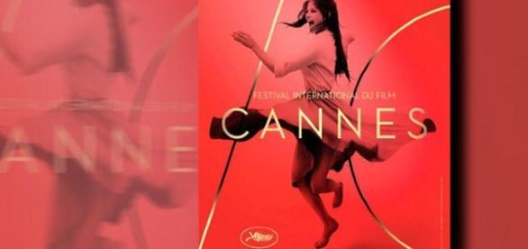 Cartel oficial de la edición número 70 del festival que engalana Claudia Cardinale.