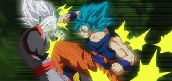 FanArt del Manga 24 de Dragon Ball Super - Zamasu vs Goku