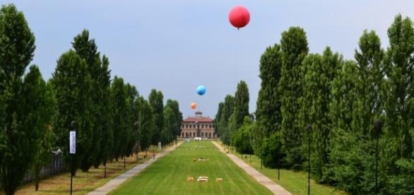 Foto della Villa Bagatti di Luigi Maggioni.