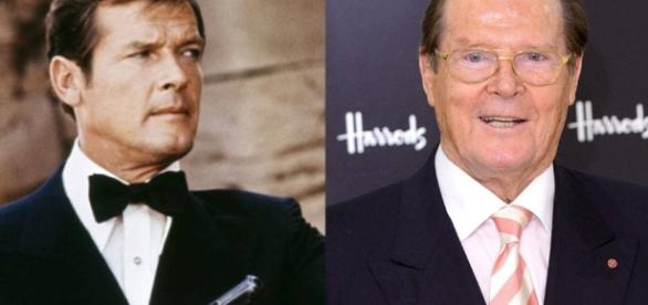 Roger Moore from James Bond Actors: Where Are They Now? - eonline.com