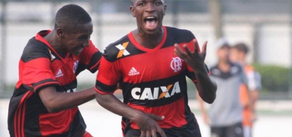 Vinicius Junior no final da taça guanabara sub-17 (Foto: Reprodução)