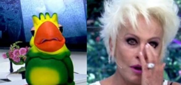 A apresentadora pensa em se internar (Foto: Reprodução / Globo )
