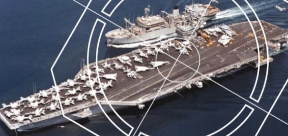 Drones do Irã cercam porta-aviões norte-americanos desde 2012