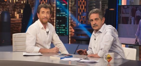 Miguel Ángel Revilla en un momento del programa El Hormiguero