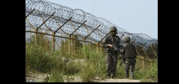 """Objeto não identificado sobrevoou o limite entre as """"Coreias"""""""
