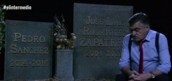 Wyoming se ríe de Zapatero en directo