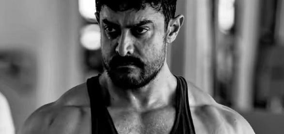A still of Aamir Khan from 'Dangal' movie