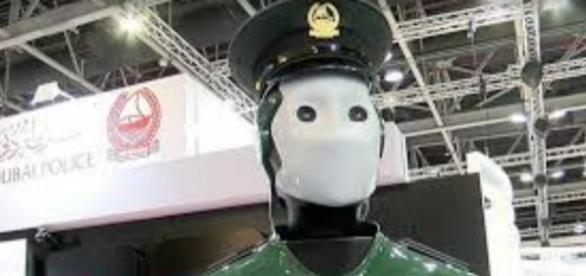Deployed by Dubai, RoboCop is world's first operational robotic police officer. Photograph courtesy of: Ruptly/YouTube