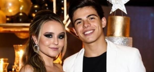 Larrisa Manoela e Thomaz Costa aniversário Raíssa