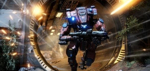 "Monarch is the new titan in the upcoming ""Titanfall 2"" DLC coming May 30. (Respawn)"