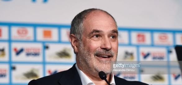Olympique de Marseille Press conference - Ligue 1 Photos and ... - gettyimages.com