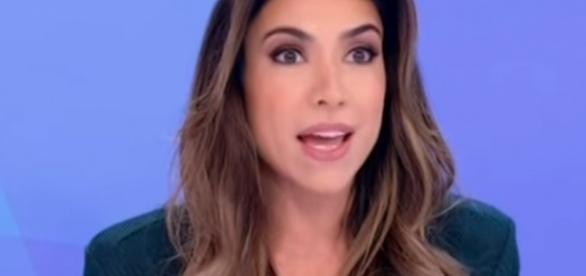 A apresentadora foi citada em vídeo