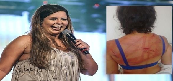 Após cantar música mulher é agredida
