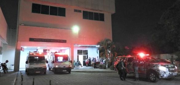 Bonitão foi levado ao Pronto Socorro ( Foto: Reprodução)