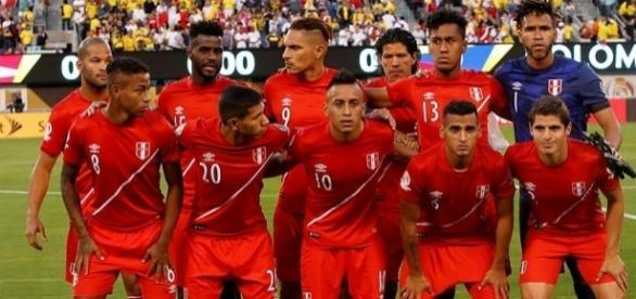 Fotografía de la selección peruana.