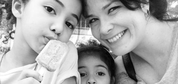 Samara defende filha contra racismo