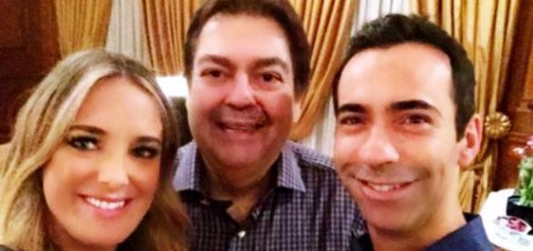 César Tralli conta como reconquistou Ticiane Pinheiro - Google