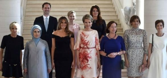 """Gauthier Destenay, o """"primeiro-marido"""" entre as primeiras-damas da OTAN"""