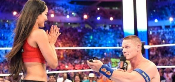 John Cena & Nikki Bella Are Engaged! WWE Star Proposes to Longtime ... - eonline.com