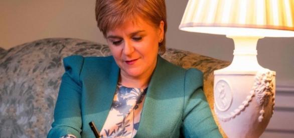 Nicola Sturgeon writes to Theresa May formally demanding second ... - thesun.co.uk