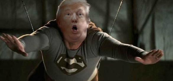 Not super Trump Photo credit: Victor Leonardi Blondet
