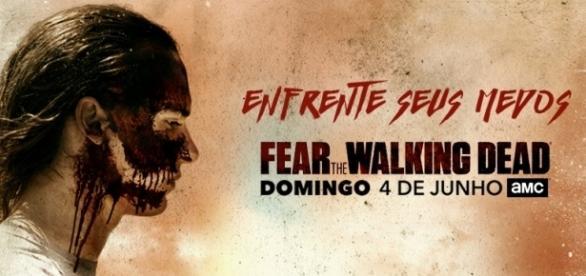 Cartaz promocional da terceira temporada de Fear the Walking Dead