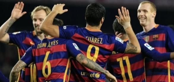Des célébrations, la tête et un record de buts : le Barça s'est ... - eurosport.fr