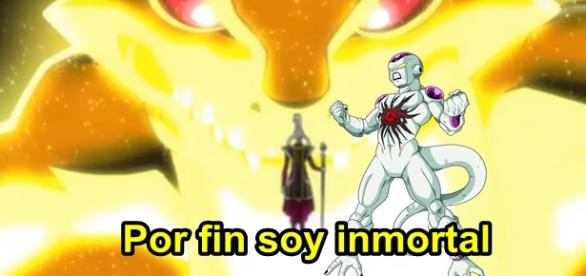 Dragon Ball Super Freezer inmortal