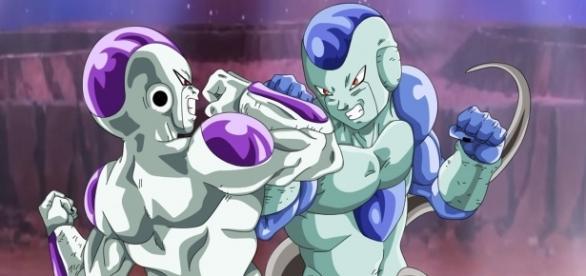 Freezer y Frost en un fan-art sobre el torneo de poder