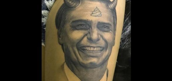Ofensas a parte, a tatuagem ficou bem feita