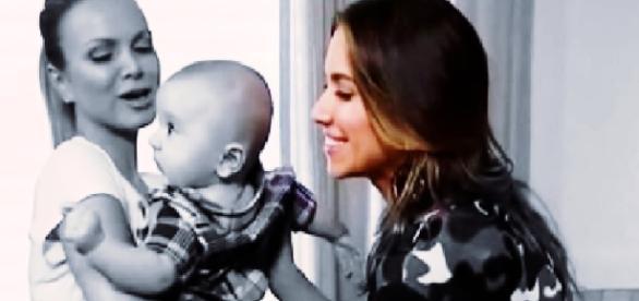 Patrícia Abravanel fala sobre gravidez de Eliana