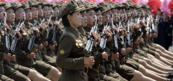 PHOTOS. Corée du Nord: Pyongyang expose sa puissance