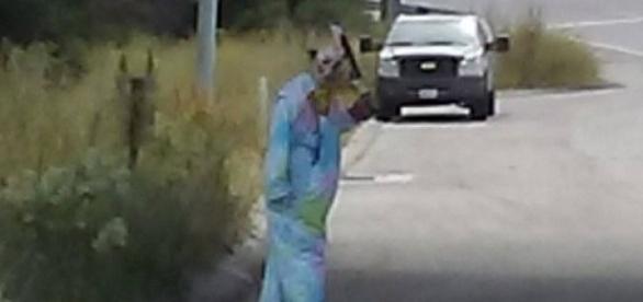 Polícia se surpreende ao descobrir a idade do palhaço sinistro (Monterey County Sheriffs Office)