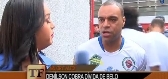 Cantor Belo tem dívida milionária com Denílson há mais de 17 anos