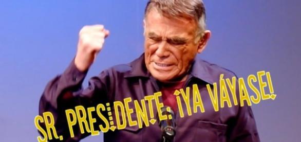 Héctor Suarez y el riesgo de hablar