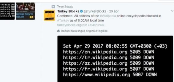 Il sito di Wikipedia è inaccessibile dalla Turchia: la censura colpisce l'enciclopedia libera