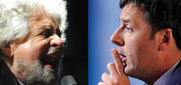 Matteo Renzi attacca Beppe Grillo