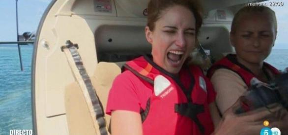 """Supervivientes': el salto de la """"desquiciada"""" Alba Carrillo, el ... - eleconomista.es"""