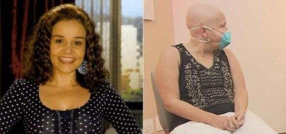 Cláudia Rodrigues está vivendo momentos difíceis