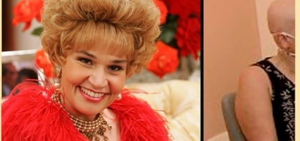 Cláudia Rodrigues ganhou fama com a persongem Marinete