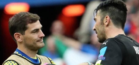 Iker Casillas elogia a Buffon y le va al Madrid