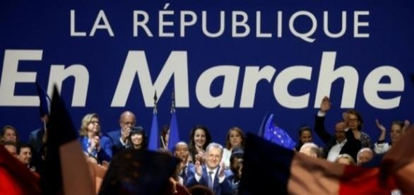 La République en Marche en tête des sondages