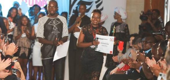 Les deux Lauréats du Forum Bruno Arbouzam Kenegue et Benite Yeleza