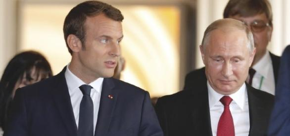 Macron accused Russia of intervening in the French May election. - apnews.com
