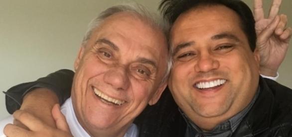Os dois apresentadores são amigos de longa data (Foto: Reprodução/ Instagram)